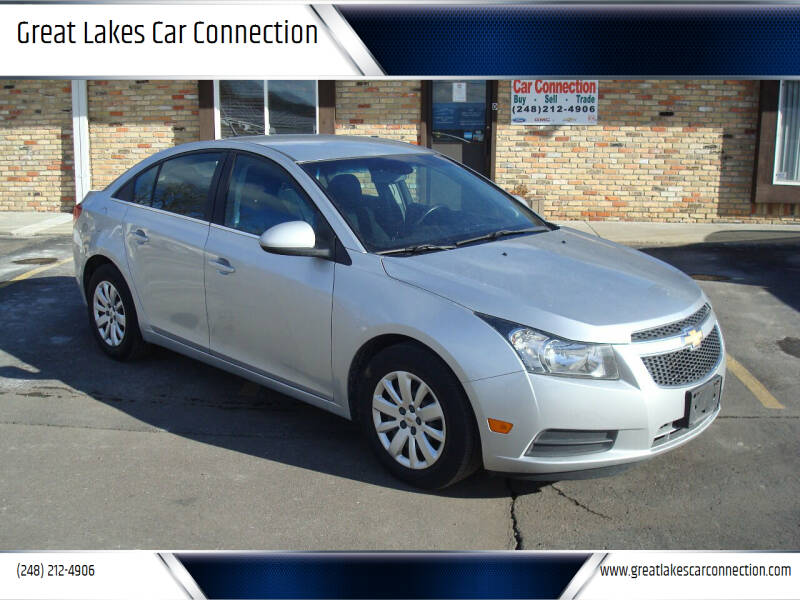 2011 Chevrolet Cruze for sale at Great Lakes Car Connection in Metamora MI
