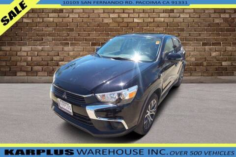 2017 Mitsubishi Outlander Sport for sale at Karplus Warehouse in Pacoima CA