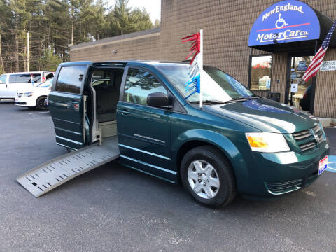 2009 Dodge Grand Caravan for sale at New England Motor Car Company in Hudson NH