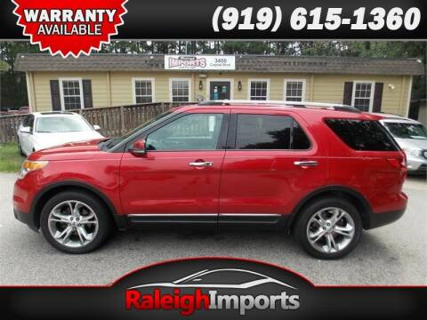 2012 Ford Explorer for sale at Raleigh Imports in Raleigh NC