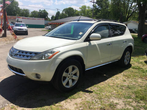 2007 Nissan Murano for sale at Antique Motors in Plymouth IN
