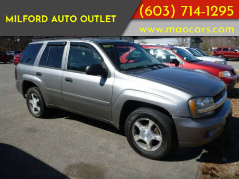 2007 Chevrolet TrailBlazer for sale at Milford Auto Outlet in Milford NH
