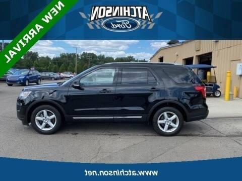 2018 Ford Explorer for sale at Atchinson Ford Sales Inc in Belleville MI
