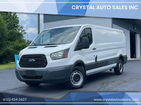 2015 Ford Transit Cargo for sale at Crystal Auto Sales Inc in Nashville TN