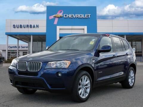 2013 BMW X3 for sale at Suburban Chevrolet of Ann Arbor in Ann Arbor MI