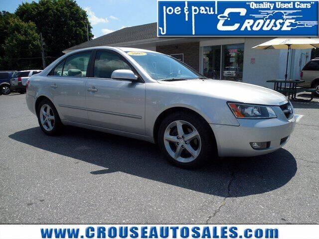 2007 Hyundai Sonata for sale at Joe and Paul Crouse Inc. in Columbia PA