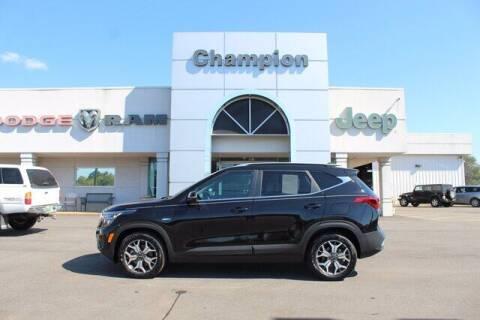 2021 Kia Seltos for sale at Champion Chevrolet in Athens AL