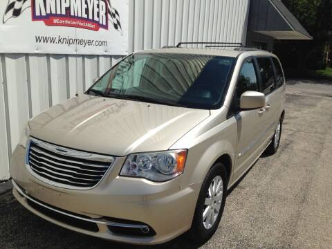 2014 Chrysler Town and Country for sale at Team Knipmeyer in Beardstown IL