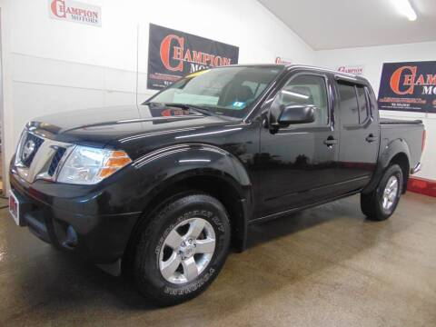2012 Nissan Frontier for sale at Champion Motors in Amherst NH