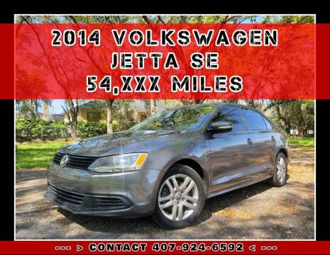 2014 Volkswagen Jetta for sale at AFFORDABLE ONE LLC in Orlando FL