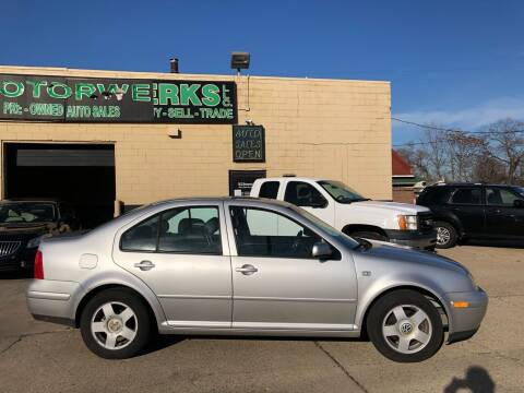 2001 Volkswagen Jetta for sale at MLD Motorwerks Pre-Owned Auto Sales - MLD Motorwerks, LLC in Eastpointe MI