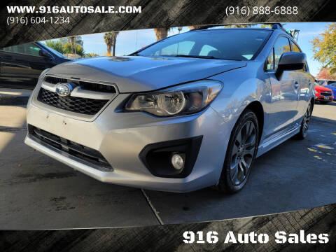2014 Subaru Impreza for sale at 916 Auto Sales in Sacramento CA