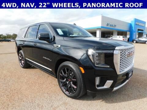 2021 GMC Yukon for sale at Stanley Chrysler Dodge Jeep Ram Gatesville in Gatesville TX