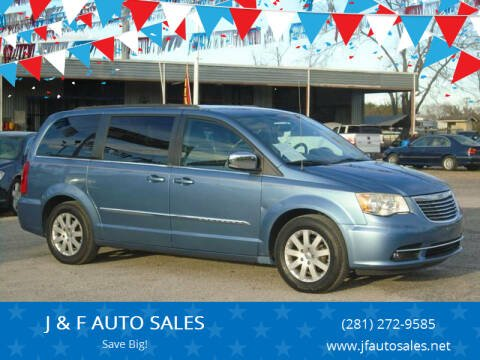 2011 Chrysler Town and Country for sale at J & F AUTO SALES in Houston TX