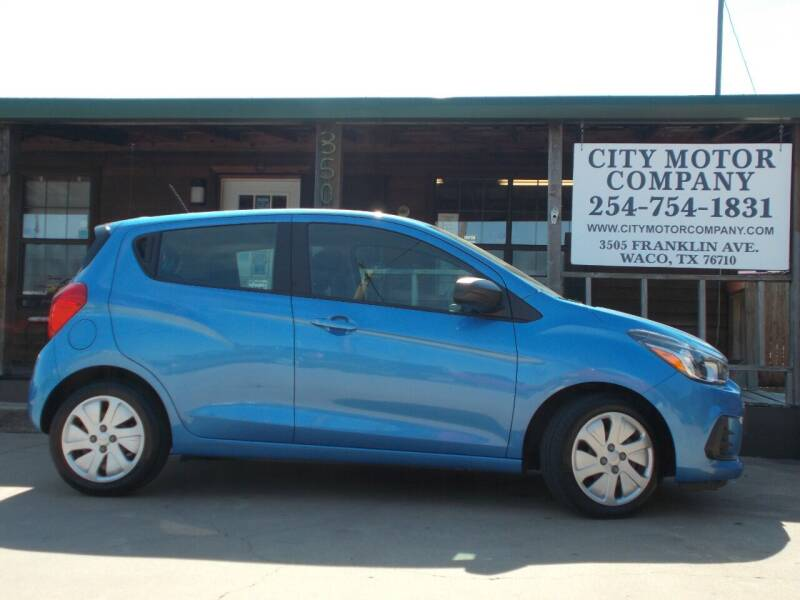 2018 Chevrolet Spark for sale at CITY MOTOR COMPANY in Waco TX