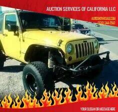 2009 Jeep Wrangler for sale at AUCTION SERVICES OF CALIFORNIA in El Dorado CA