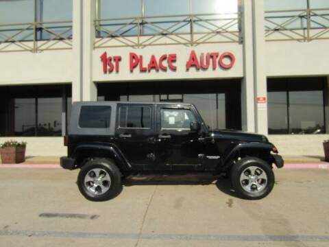 2007 Jeep Wrangler Unlimited for sale at First Place Auto Ctr Inc in Watauga TX