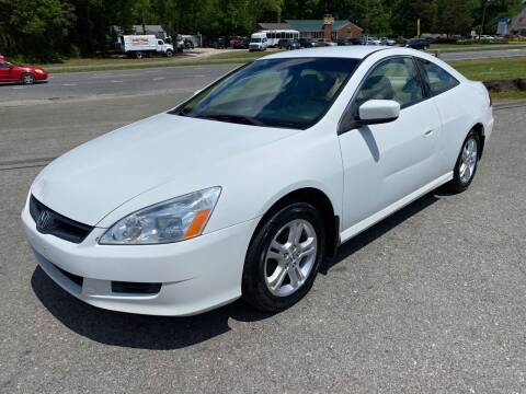 2006 Honda Accord for sale at CVC AUTO SALES in Durham NC