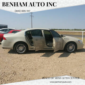 2010 Buick Lucerne for sale at BENHAM AUTO INC in Lubbock TX