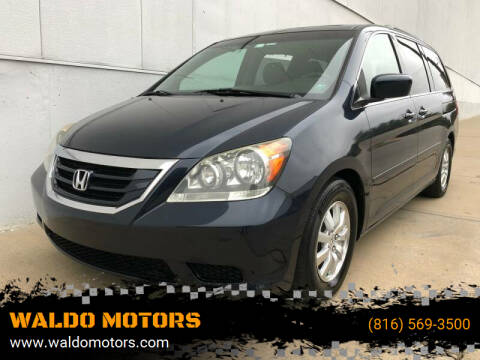 2009 Honda Odyssey for sale at WALDO MOTORS in Kansas City MO