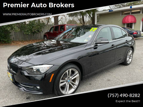 2017 BMW 3 Series for sale at Premier Auto Brokers in Virginia Beach VA