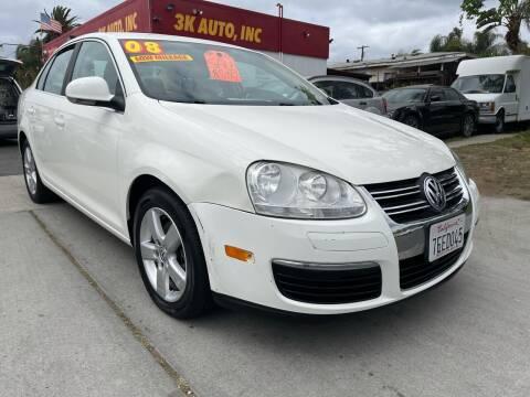 2008 Volkswagen Jetta for sale at 3K Auto in Escondido CA