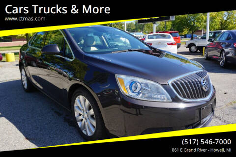 2016 Buick Verano for sale at Cars Trucks & More in Howell MI
