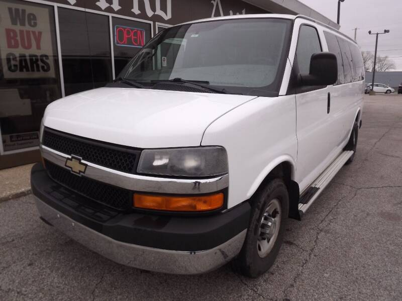 2012 Chevrolet Express Passenger for sale at Arko Auto Sales in Eastlake OH