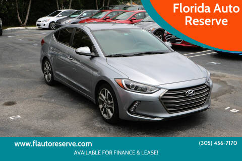 2017 Hyundai Elantra for sale at Florida Auto Reserve in Medley FL
