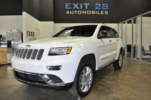 2014 Jeep Grand Cherokee for sale at Exit 28 Auto Center LLC in Cornelius NC