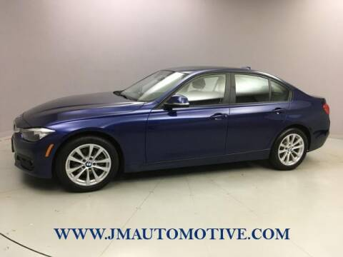 2017 BMW 3 Series for sale at J & M Automotive in Naugatuck CT