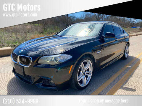 2013 BMW 5 Series for sale at GTC Motors in San Antonio TX