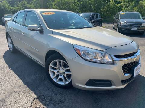 2014 Chevrolet Malibu for sale at Bob Karl's Sales & Service in Troy NY