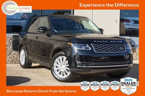 2019 Land Rover Range Rover for sale at Dallas Auto Finance in Dallas TX