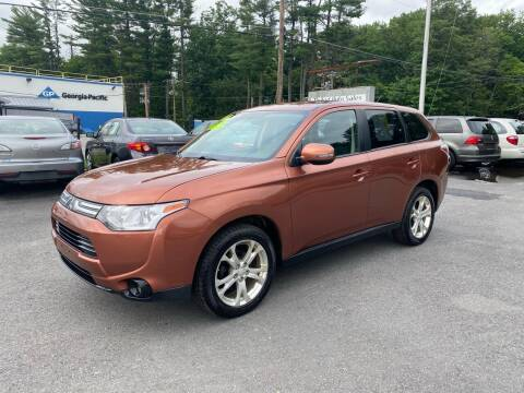 2014 Mitsubishi Outlander for sale at United Auto Service in Leominster MA