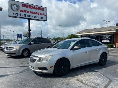 2012 Chevrolet Cruze for sale at Guidance Auto Sales LLC in Columbia TN