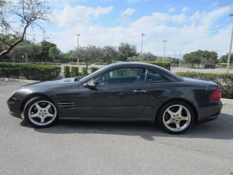 2003 Mercedes-Benz SL-Class for sale at Auto Sport Group in Delray Beach FL