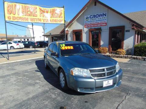 2010 Dodge Avenger for sale at Crown Used Cars in Oklahoma City OK