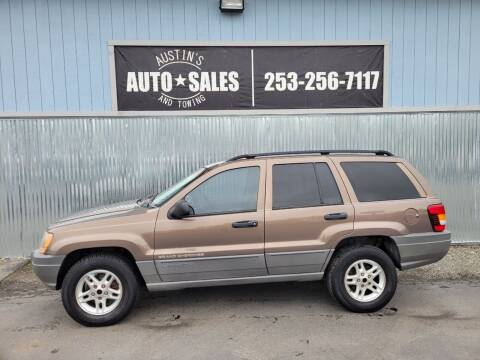 2002 Jeep Grand Cherokee for sale at Austin's Auto Sales in Edgewood WA