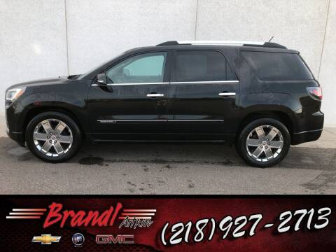 2014 GMC Acadia for sale at Brandl GM in Aitkin MN