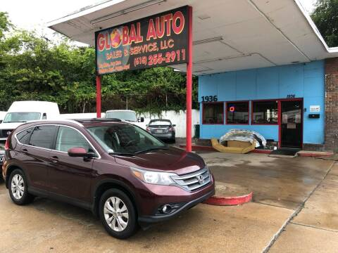 2014 Honda CR-V for sale at Global Auto Sales and Service in Nashville TN