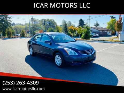 2012 Nissan Altima for sale at ICAR MOTORS LLC in Federal Way WA