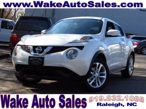 2016 Nissan JUKE for sale at Wake Auto Sales Inc in Raleigh NC