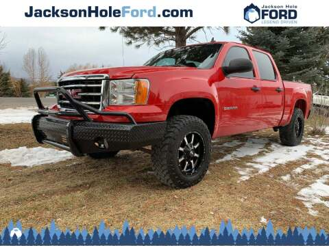 2013 GMC Sierra 1500 for sale at Jackson Hole Ford of Alpine in Alpine WY