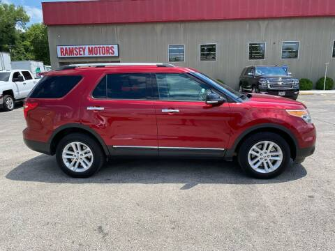 2015 Ford Explorer for sale at Ramsey Motors in Riverside MO