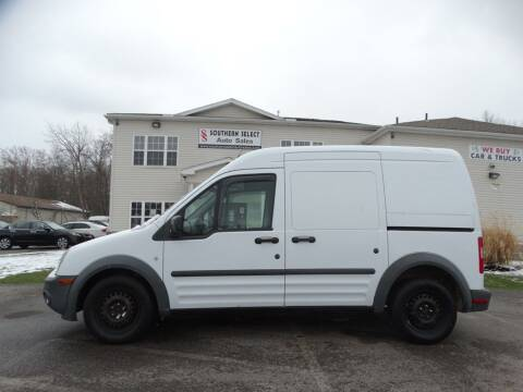 2010 Ford Transit Connect for sale at SOUTHERN SELECT AUTO SALES in Medina OH