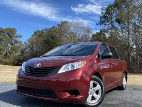 2014 Toyota Sienna for sale at Global Pre-Owned in Fayetteville GA