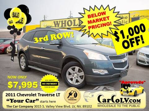 2011 Chevrolet Traverse for sale at The Car Company in Las Vegas NV