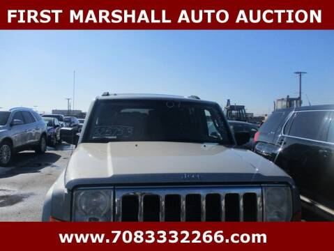 2007 Jeep Commander for sale at First Marshall Auto Auction in Harvey IL
