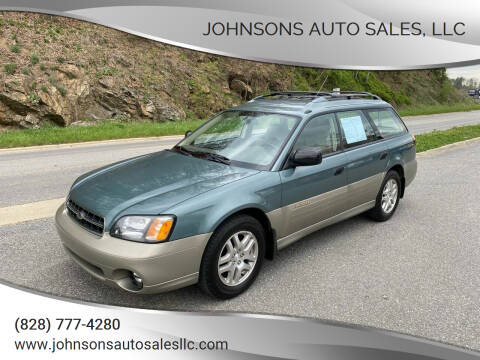 2000 Subaru Outback for sale at Johnsons Auto Sales, LLC in Marshall NC